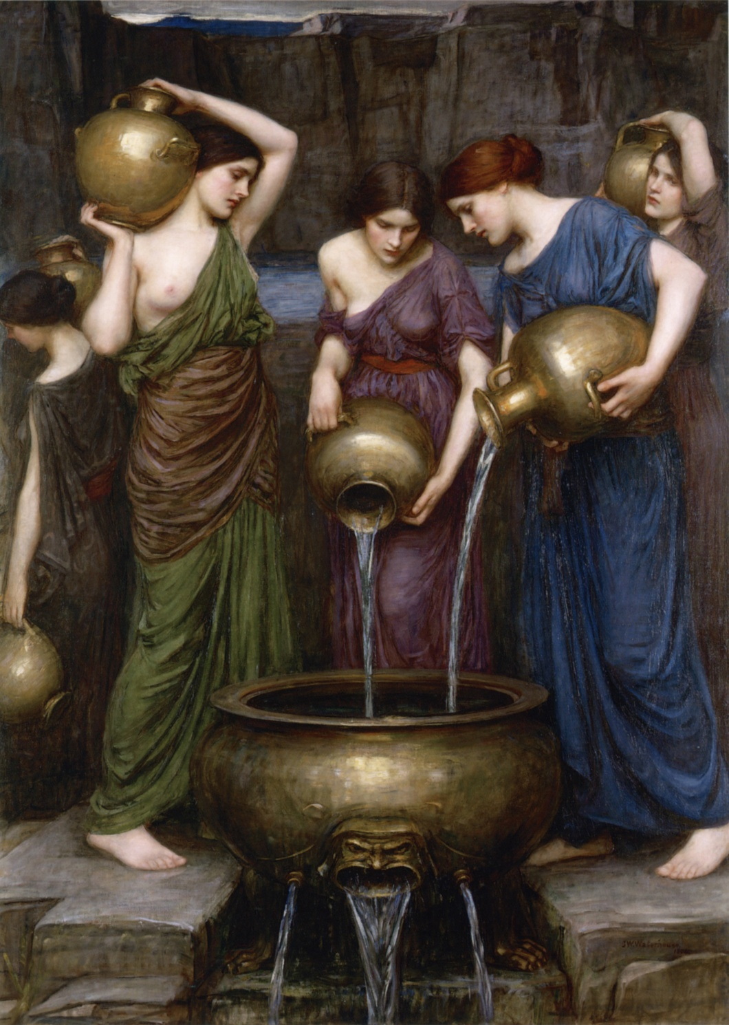 Danaides_by_John_William_Waterhouse,_1903